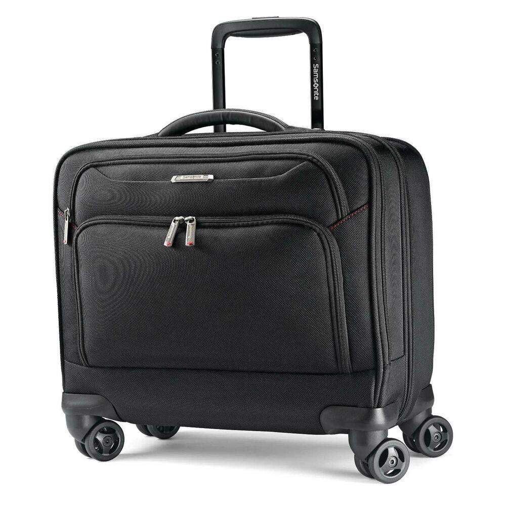 Samsonite Xenon 3 0 Spinner Mobile Office Laptop Bag Black One
