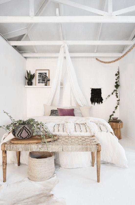 45 Wonderful White Walls Interior Ideas Minimalist Bedroom Home
