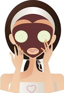 Honey, chocolate, yogurt, cinnamon, oatmeal facial mask
