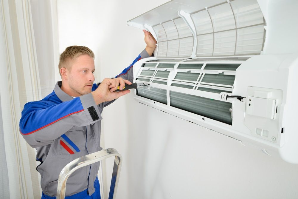 Hiring Heating And Cooling Specialists For Your Home Air Conditioning Installation Air Conditioning Services Split System Air Conditioner