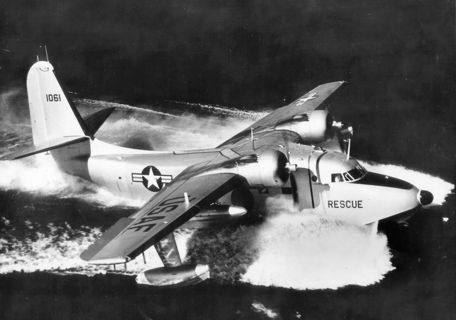 Grumman SA16 Albatross. My dad flew these during the Korean War doing Air Sea Rescue of downed pilots.