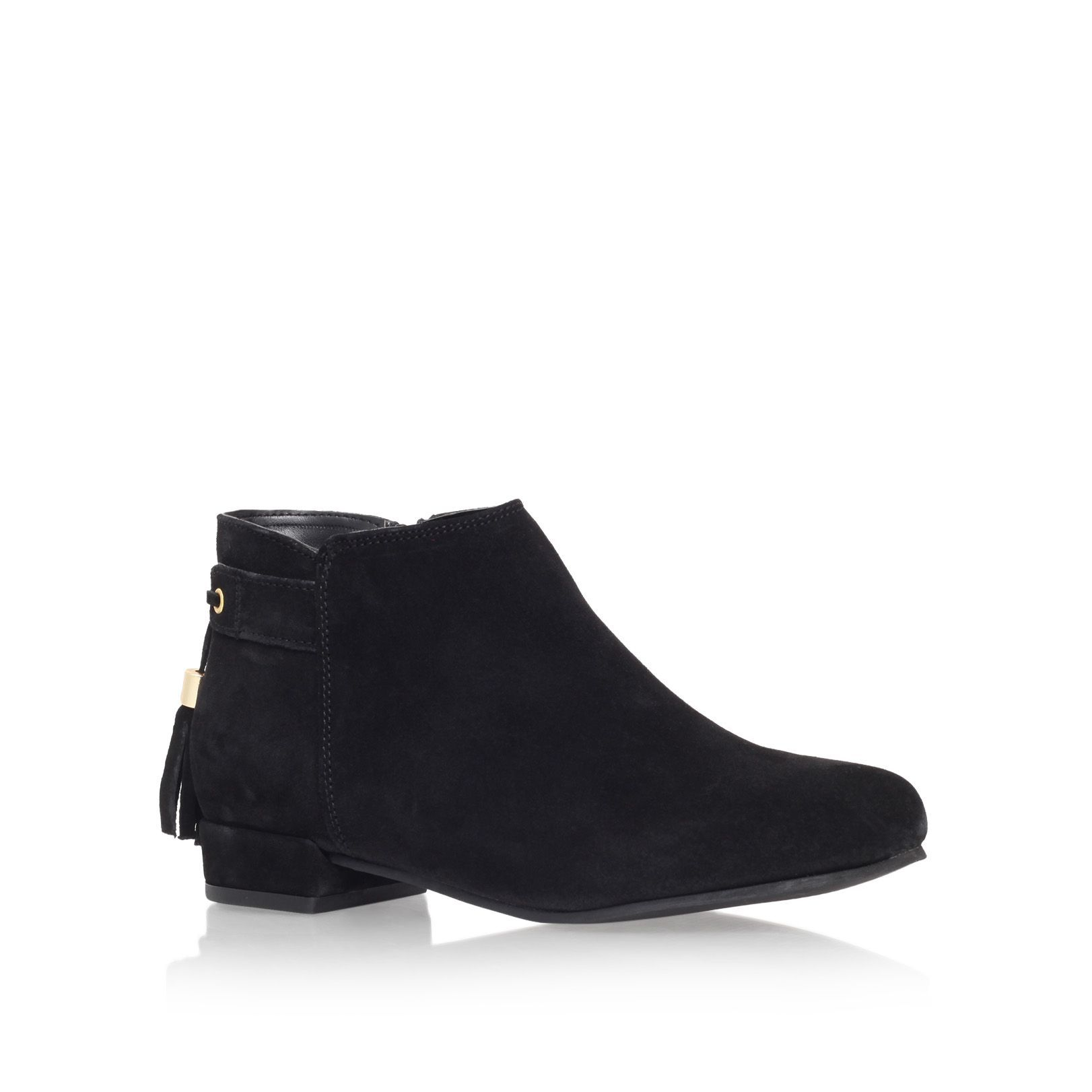 Carvela Tassel flat ankle boots, Black | Ladies Boots | Pinterest ...