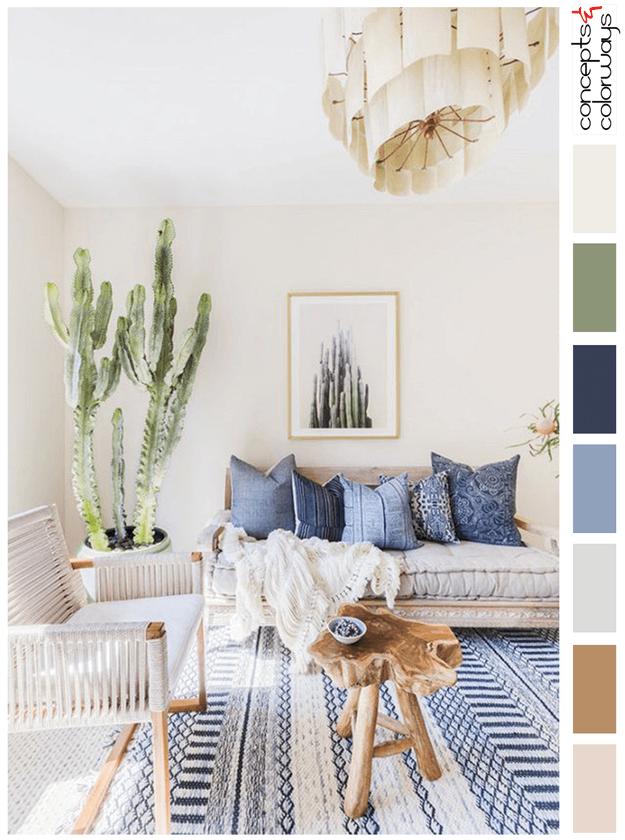 SOUTHWESTERN SOFTNESS | Living room paint colors, Room color ...