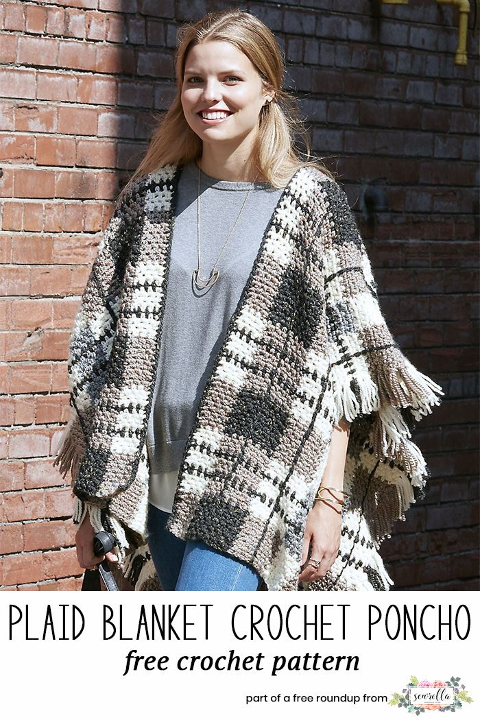 Crochet Accessories That Look Knit | Ponchos, Capilla y Tejido