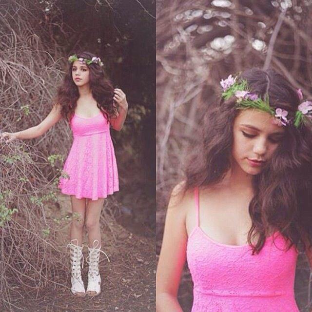 Pink Lace Dress | Stylebiter.com