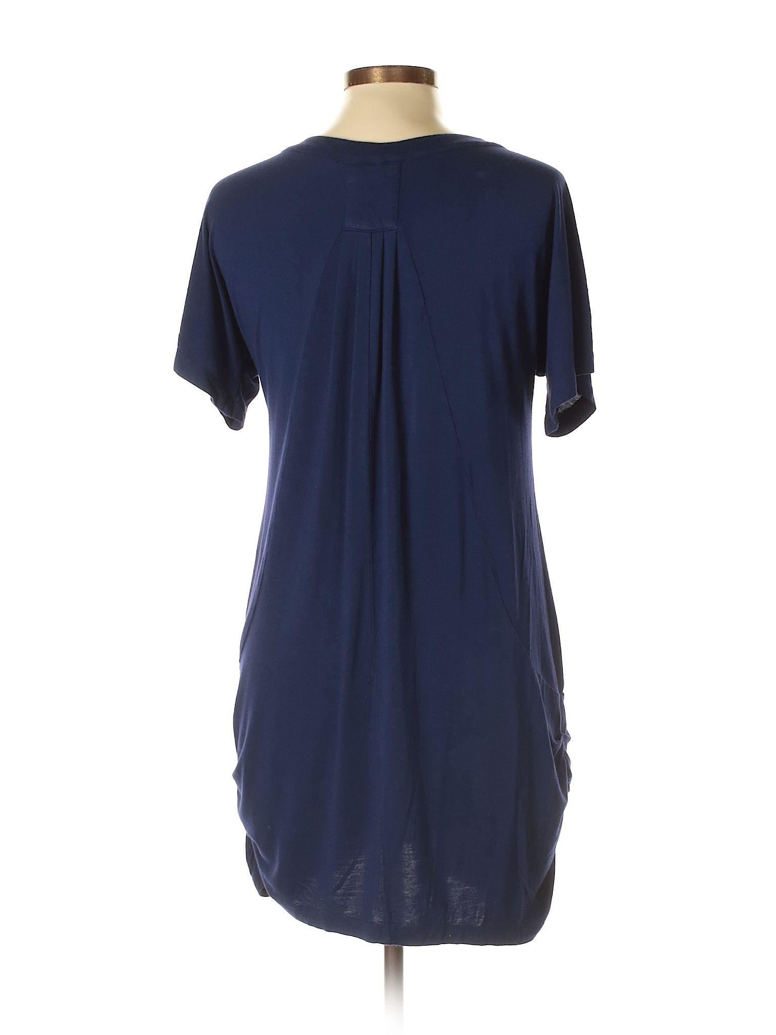 c1ad76a4a Vivienne Vivienne Tam Casual Dress: Navy Blue Women's Dresses - 32129345