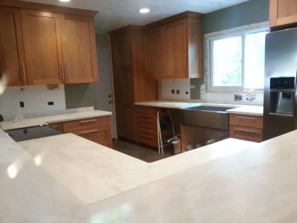 corian witch hazel countertops love the cabinets too kitchen