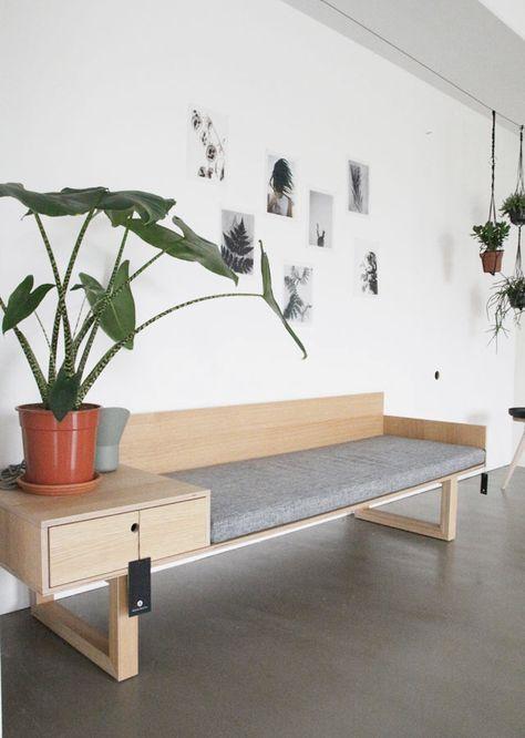 diy furniture hallway I flur eingangsbereich bank möbel selber bauen ...
