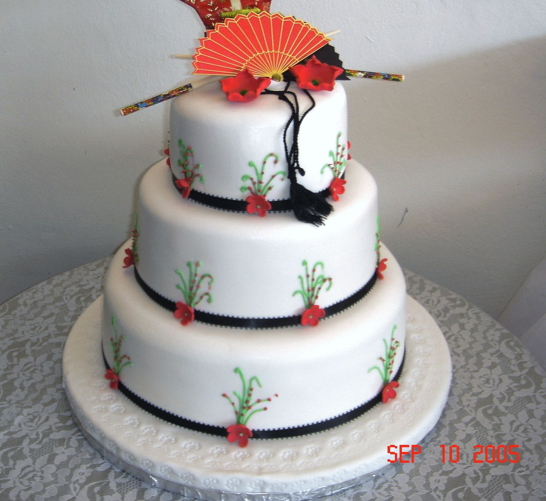 My sister in law Chinese birthday cake. Cakes Pinterest