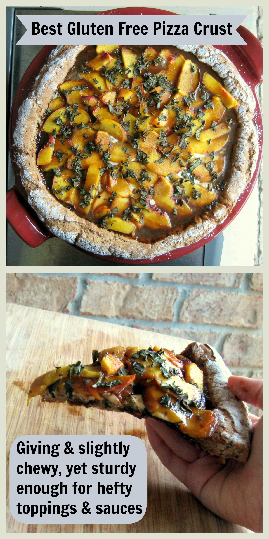 Gluten free whole grain pizza crust recipe food