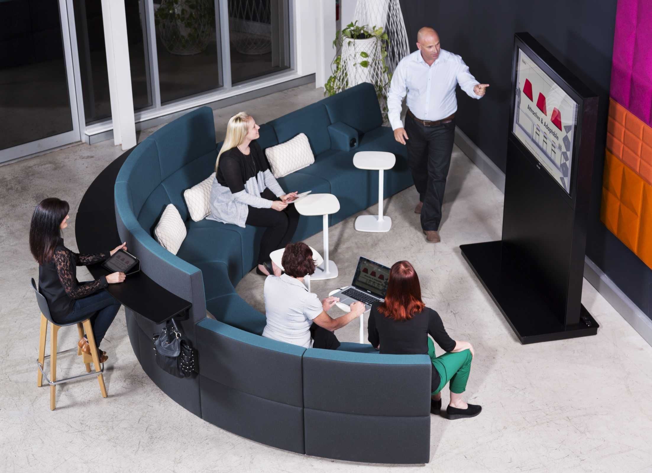 Astonishing Zenith Interiors Gather Around Modular Lounge Sofa Home Interior And Landscaping Ologienasavecom