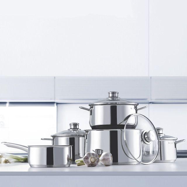 Batería De Cocina 5 Piezas WMF Diadem Plus