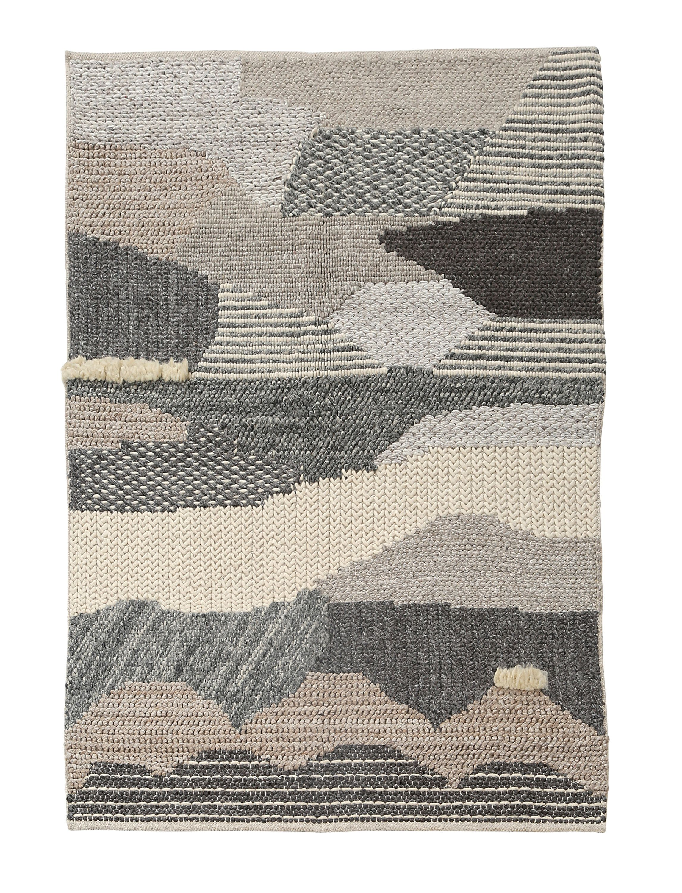 Designer Hand Woven Wool Rug With Various Weaving Technique Of Fine Natural Textured Wool Scandinavian Rug St Scandinavian Rug Hand Weaving Weaving Techniques