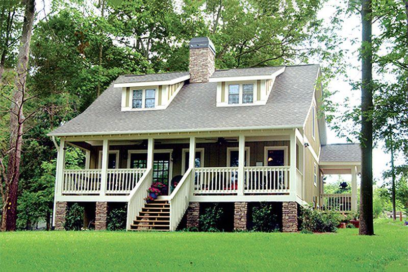 cottage style house plans. Cottage Style House Plan - 3 Beds 2 Baths 1451 Sq/Ft #17 Plans L