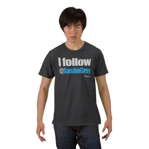 """Better bought this t-shirt when it was sold for $40. """"I Follow Sasha Grey T Shirt"""" is now cost $107.85"""