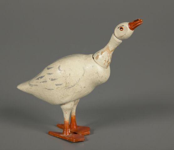 The Schoenhut Goose. He was part of the Schoenhut Farm Set, as well as the Circus.