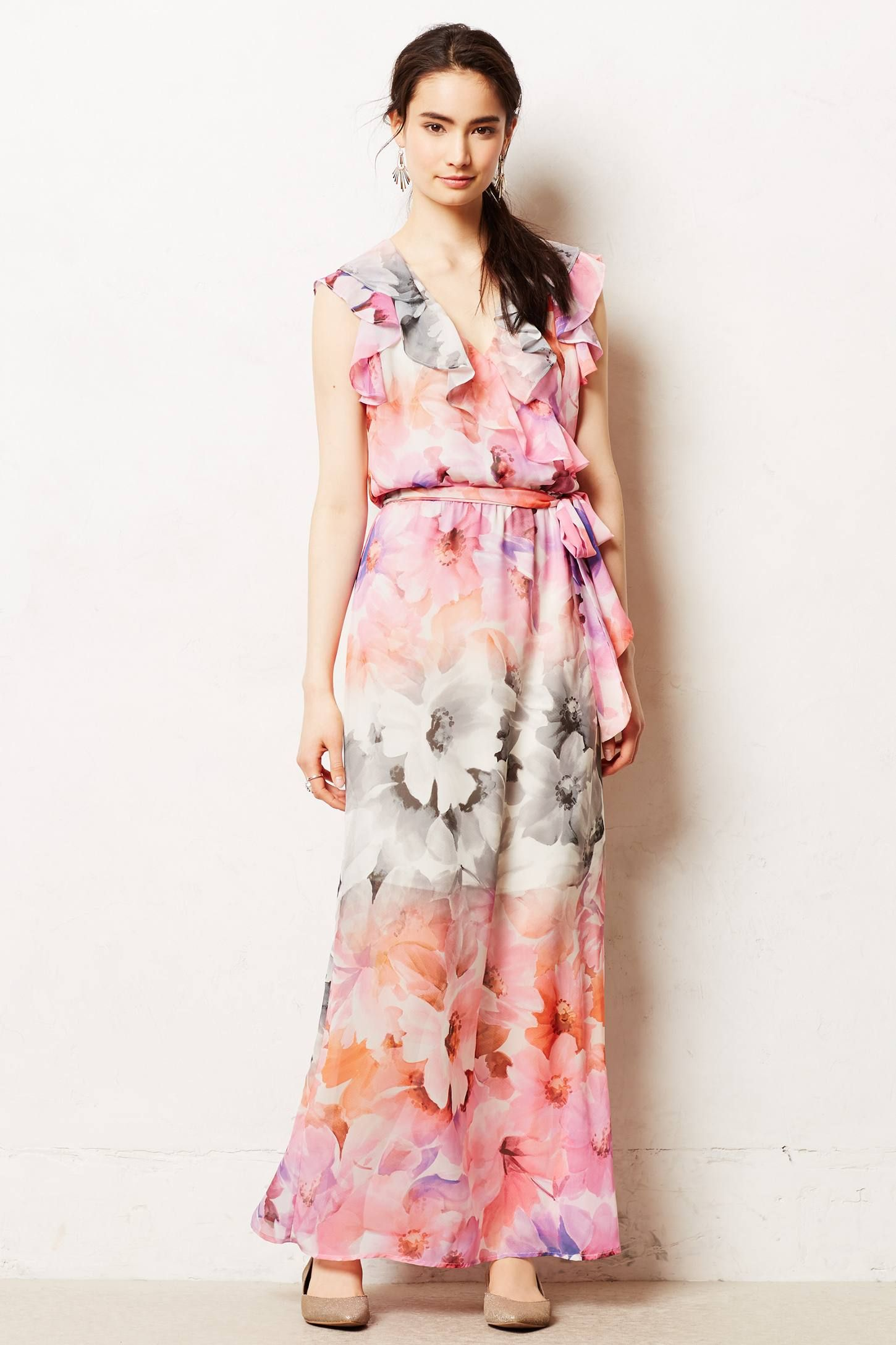 Easel Flora Maxi Dress - anthropologie.com | love to wear | Pinterest