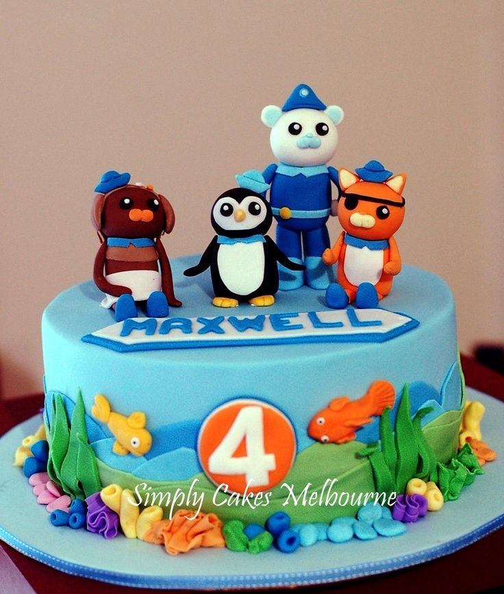 OctonautsCake Octonauts cake Kid Birthday Party Ideas Cakes