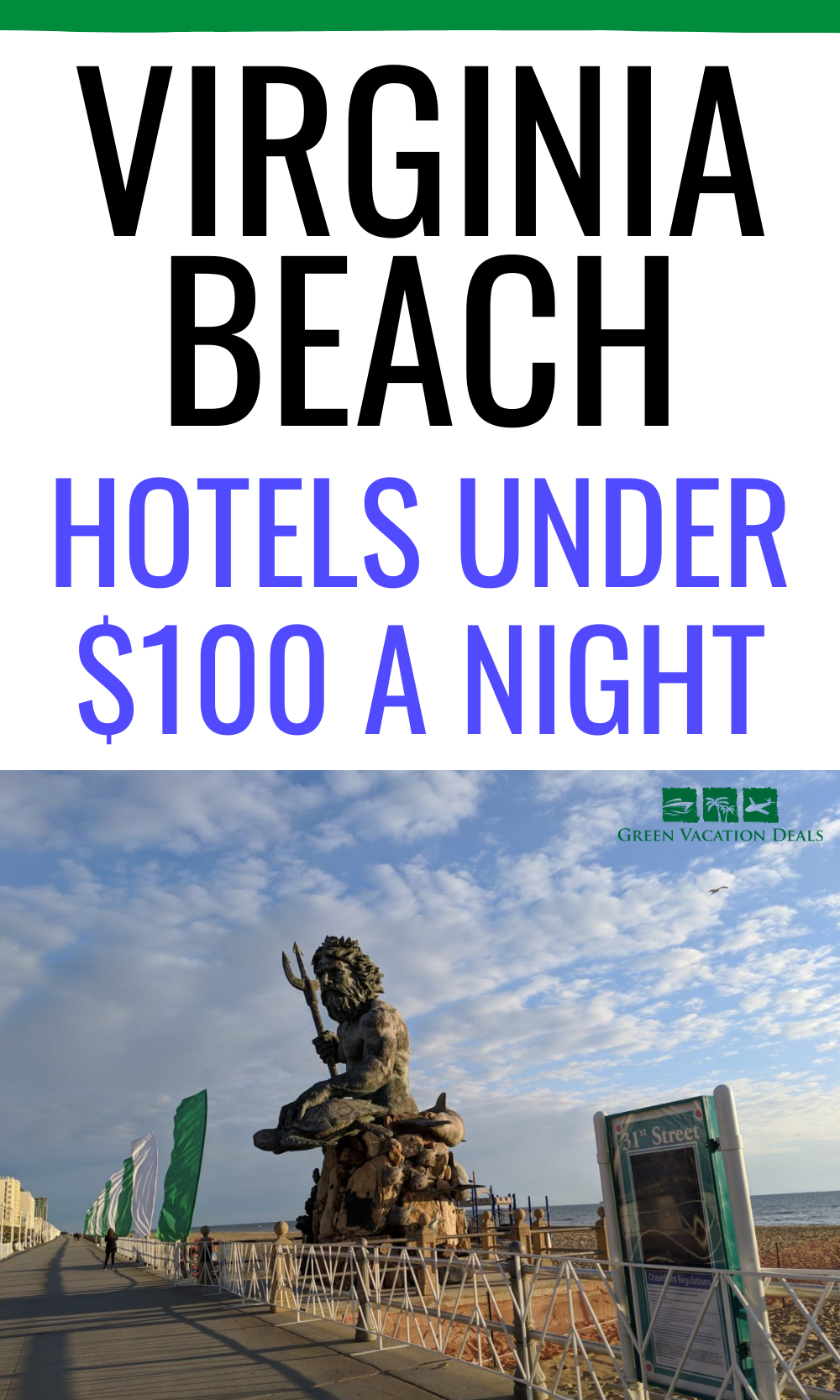Discounted nightly rates at Virginia Beach hotels under $100/night: Hampton Inn Oceanfront,, Ocean Sands Resorts, Comfort Suites Beachfront, Turtle Cay, etc. Great travel hacks for a Virginia Beach vacation. #VirginiaBeach #Virginia #Beach #BeachTrip #BeachVacation #hoteldeals #traveldeals #travelhacks #travelsale #budgettravel #budgettraveler #cheaptravel #beachbabe #oceanfront #trip