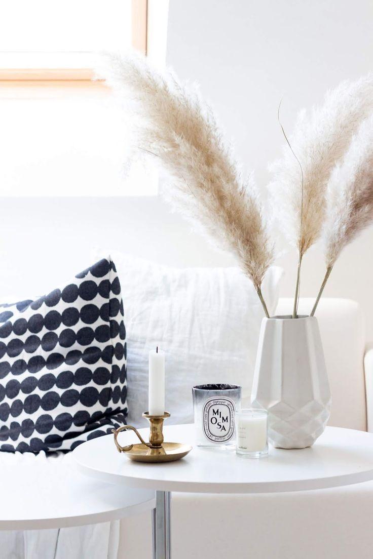 Interior-Trend: Ziergräser wie zum Beispiel Pampasgras – Wohnung ideen