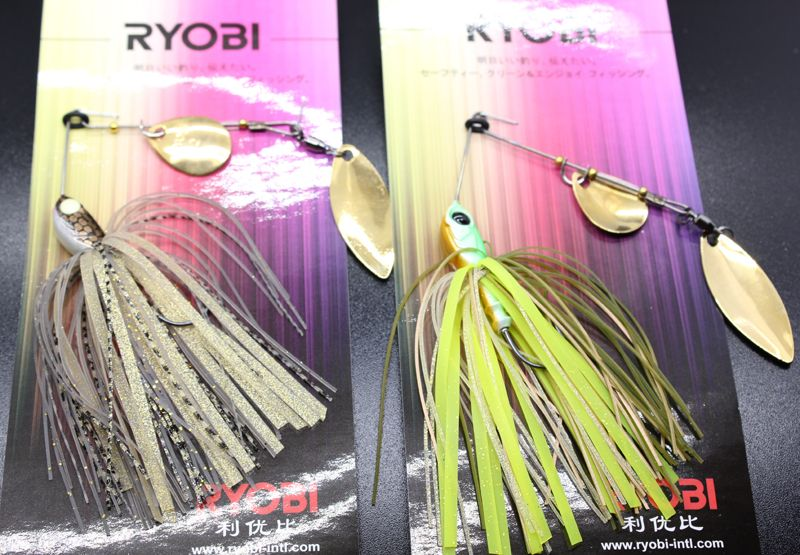 wobblers  Hot Sale 1 Bag 10g & 14g Metal Spinnerbait Jig Fishing  Hard Lure For Freshwater Fishing