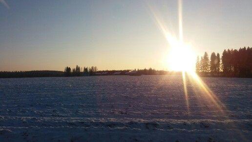 Aurinko. Tammikuu