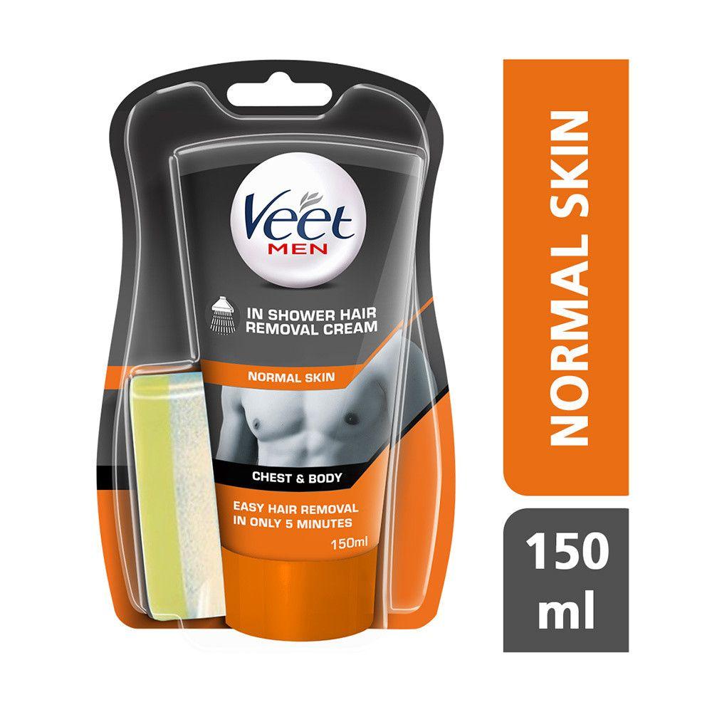 Veet For Men Hair Removal In Shower Cream Normal Hair Removal