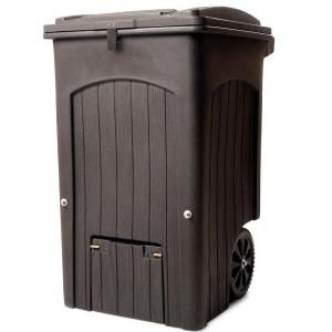 Home Depot Compost Bin Toter Wheeled Composter Kit 03556401Cgr At The Home Depot