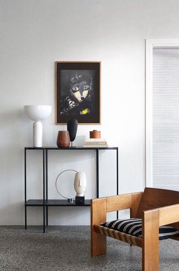 Contemporary Artwork Living Room Good Color Paint For Art Print Gothic Home Decor Dark Poster Black White Wall Do