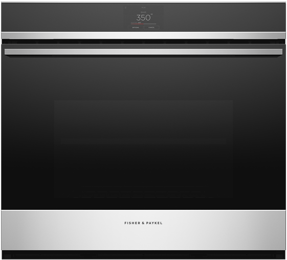 Fisher & Paykel Series 9 Contemporary 30 Single Electric Wall Oven Stainless Steel OB30SDPTX1