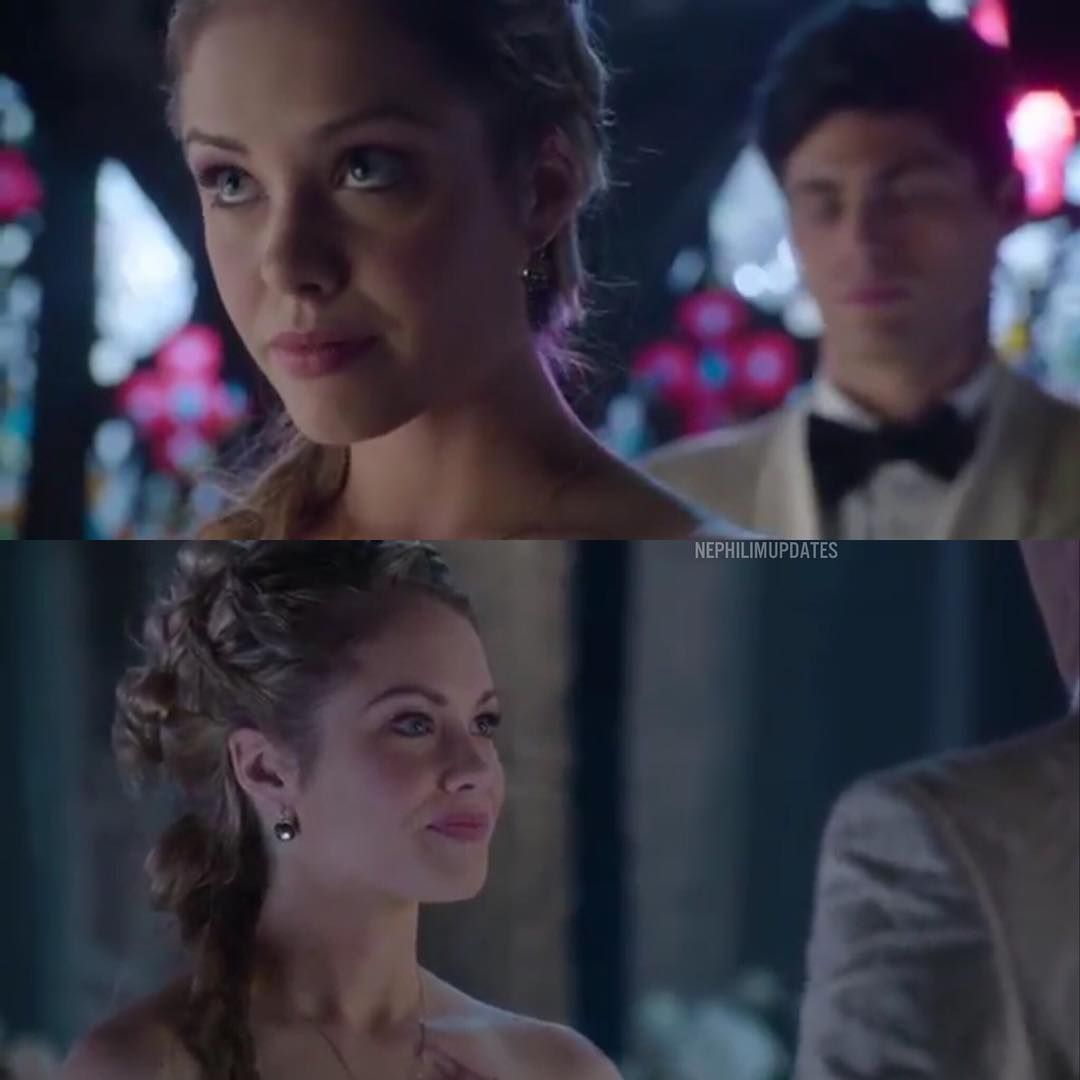 """""""Lydia looked beautiful!  #Shadowhunters Episode 12 - Malec @stephaniedian"""""""