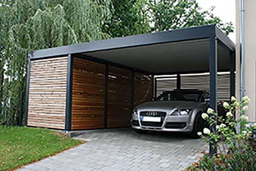 Super Design Metall Carport aus Holz Stahl mit Abstellraum Nürnberg  OS62