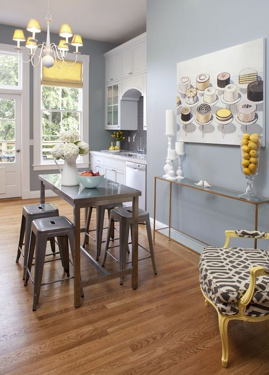 Suzie: Artistic Designs for Living - Blue kitchen with ...