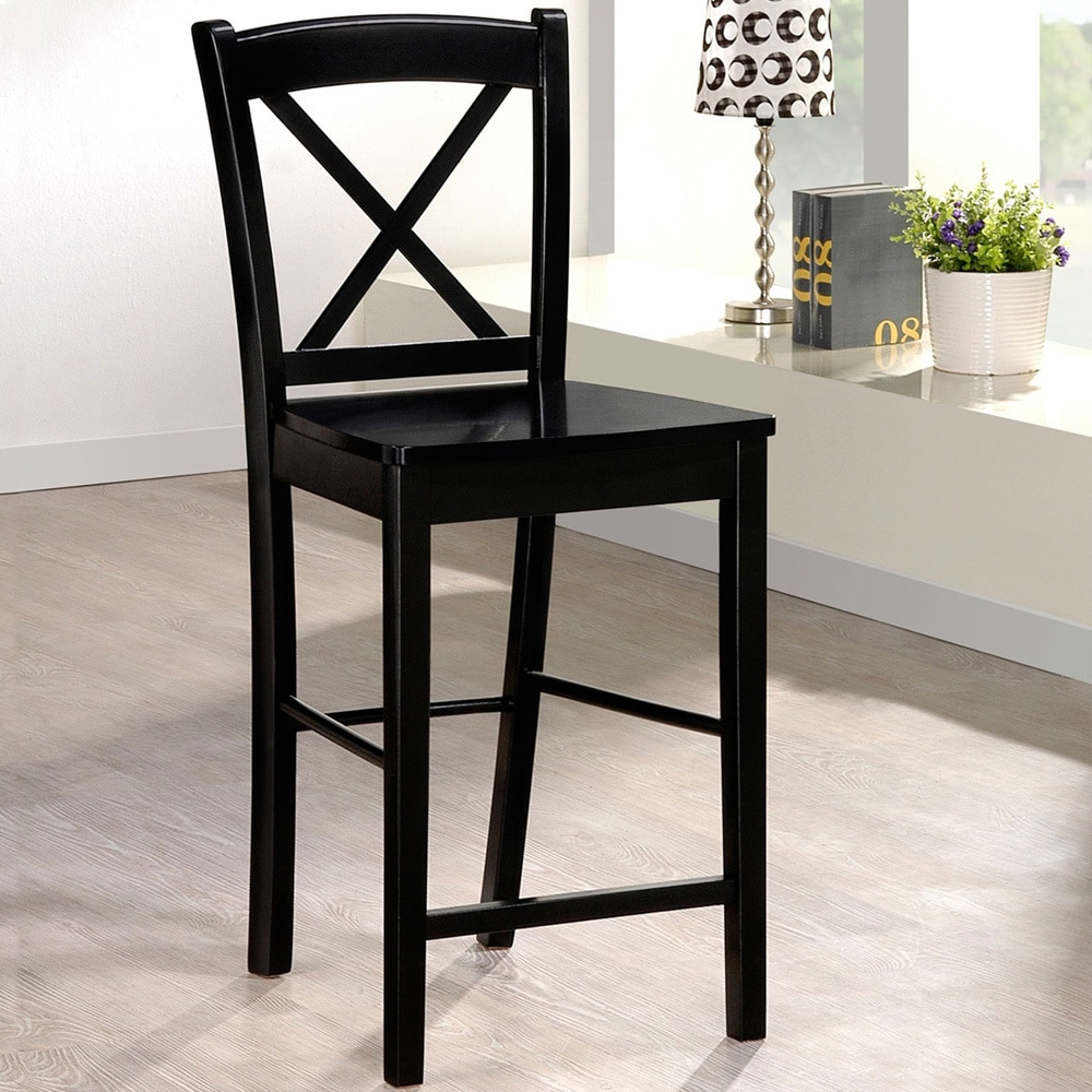 Stupendous Copper Grove Amravati Ready To Assermble Black Counter Gamerscity Chair Design For Home Gamerscityorg