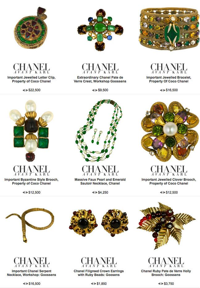 25809e77f11e rare period chanel costume jewelry 1stdibs | Jewelry in 2019 ...