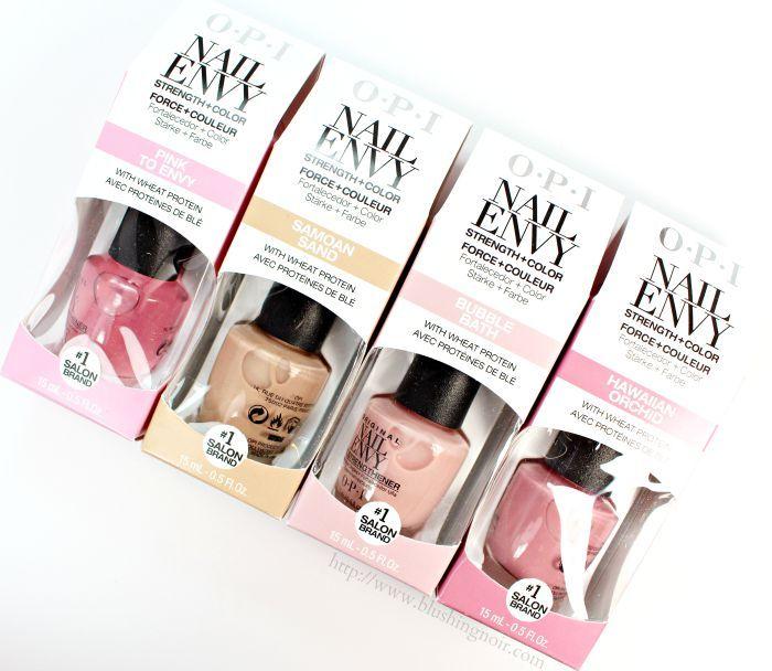 OPI Nail Envy Colors Nail Polish | Opi nail envy, Nail envy and ...