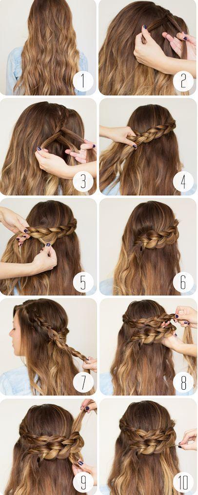 3 idées de coiffures pour aller à un mariage Hair Long