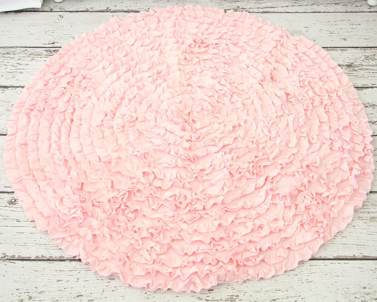 Attractive Pink Rug For Your Home Bathroom Nursery Rugs
