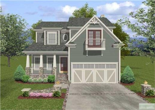 These Craftsman Home Plans are a work of art, that's all there is to it. The aesthetical quality of this house blueprint is simply astounding. Even with all of the craftsman touches and artsy-fartsy atmosphere, this set of craftsman House Plans is very functional as well.