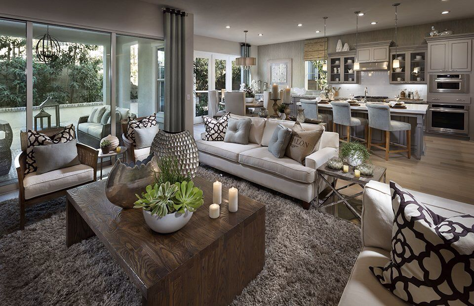 Transitional Style What It Is And How To Capture It: This Transitional Style Family Room Is Stunning! We Love
