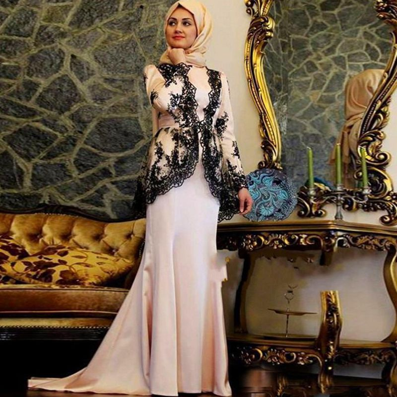 World Of Architecture 16 Simple Elegant And Affordable: 2015 Custom Made New Elegant Fashioned Muslim Prom Dress