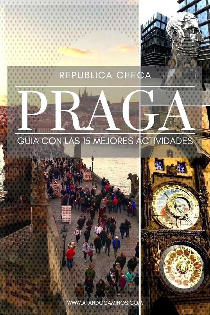 Qué ver en Praga? Guía de actividades para hacer y lugares para ver en tu viaje a Praga. Guía de