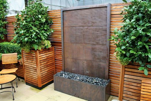 Decorative Wall Garden Fountains To Make Your Yard More Relaxing .