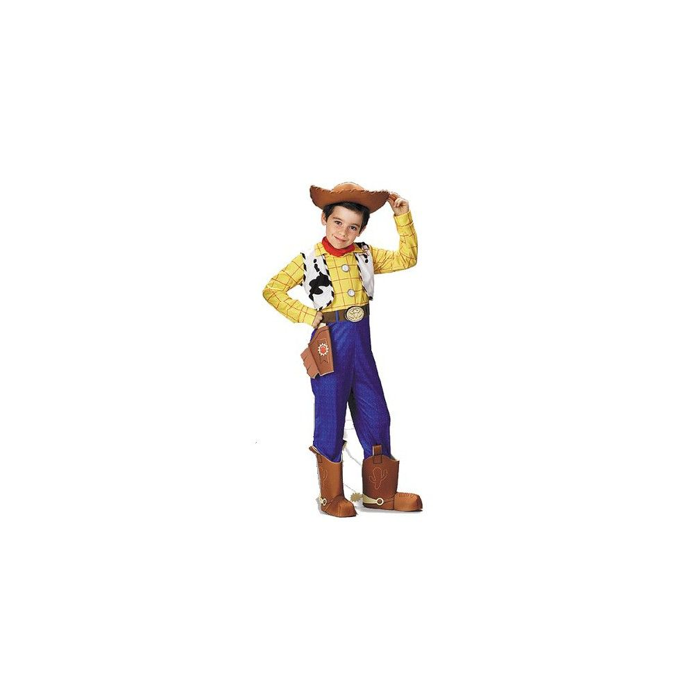 Disney Toy Story Boys  Woody Costume Small (4-6) ef43804935e