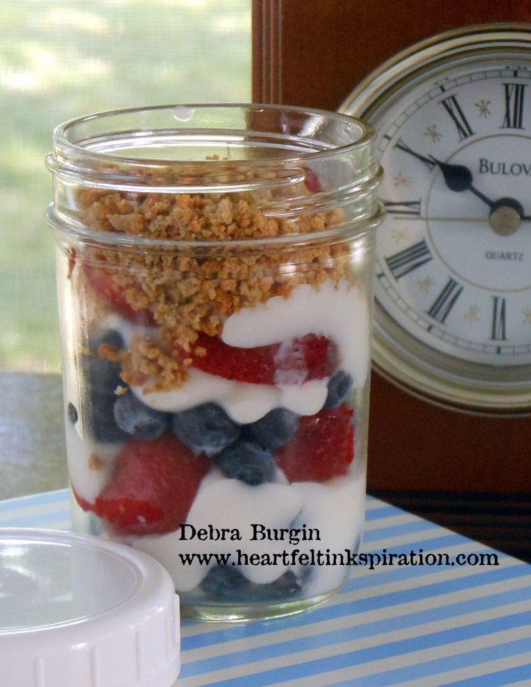 Debra Burgin Yogurt parfait