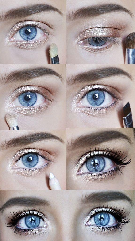 Ofrälse in 2020 Blue eye makeup, Makeup kit, Eye makeup
