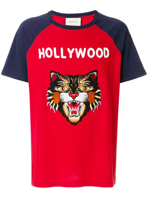 db6bbd20 Gucci Hollywood Angry Cat T-shirt - that should be mine! | trend in ...
