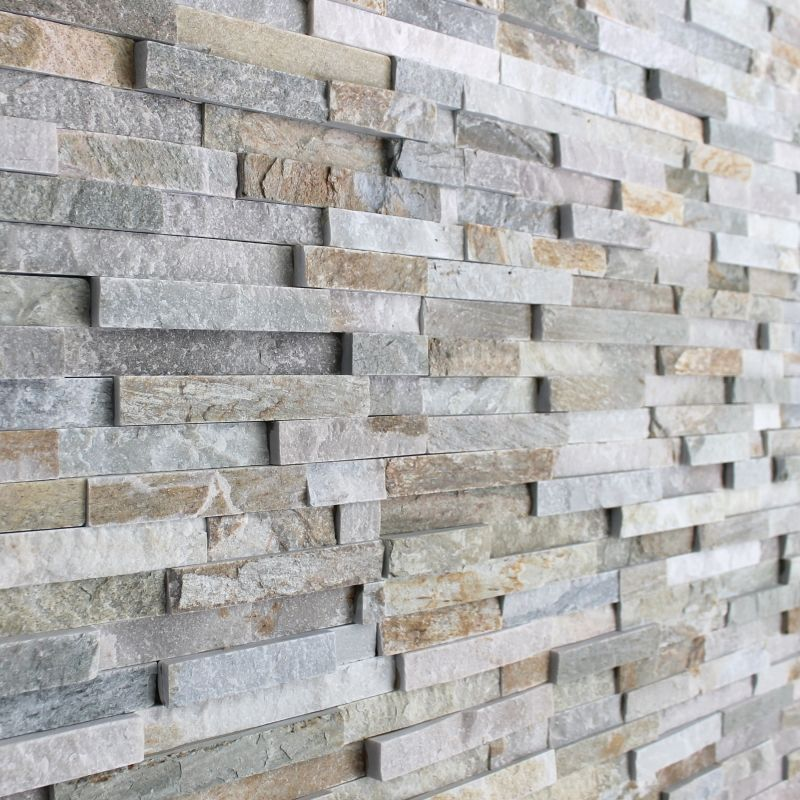 3d Polished Grey Brick Stone Tile | 3d tiles, Grey brick and Stone tiles