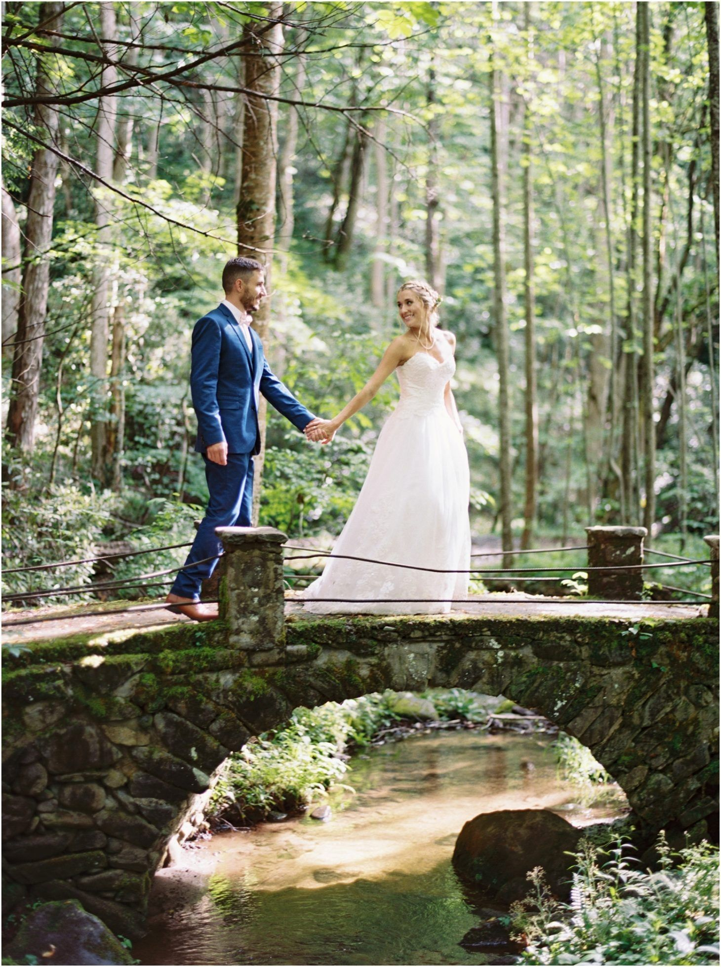 Wedding In The Great Smoky Mountains National Park At