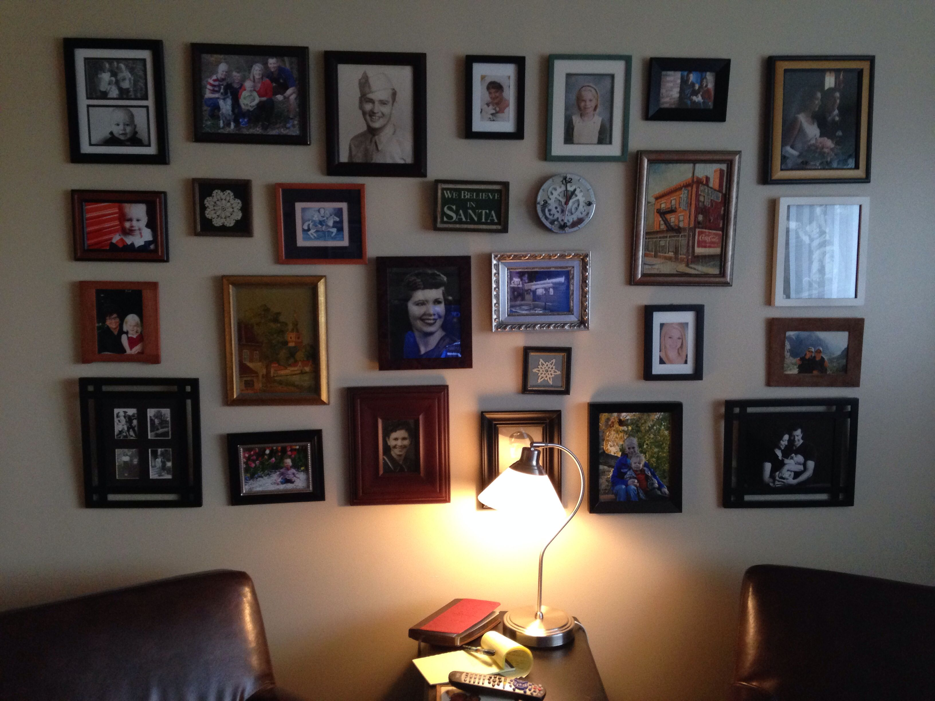 My gallery wall picture gallery pinterest gallery wall
